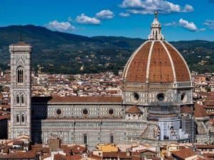 Florence Duomo, Santa Maria del Fiore Cathedral in Italy