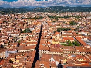 View of Florence from Brunelleschi's Dome