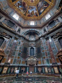 The Medici Chapel, the Chapel of the Princes in Florence in Italy