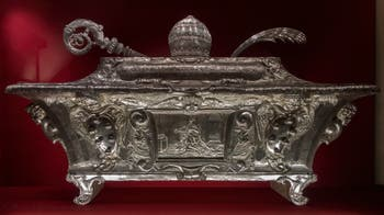 Reliquary of Pope St. Mark, St. Amatus the Abbot and St. Concordia Martyr