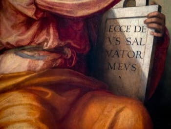 Fra Bartolomeo, Prophet Isaiah, at the Accademia Gallery in Florence Italy