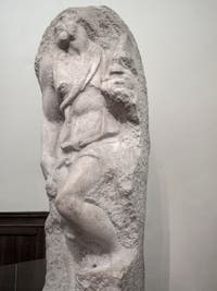 Michelangelo, St. Matthew, Accademia Gallery in Florence in Italy