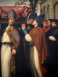 Ridolfo del Ghirlandaio, Translation of the Body of Saint Zenobus, at Accademia Gallery in Florence Italy