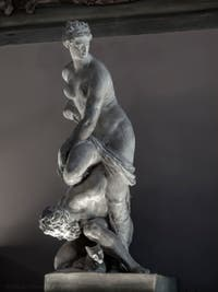 Giambologna, The Victory of Florence over Pisa, Hall of the Five Hundred of Palazzo Vecchio in Florence, Italy