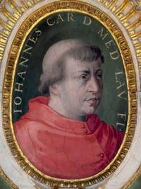 Giorgio Vasari, Portrait of Giovanni de Medici, future Pope Leo X, Palazzo Vecchio in Florence
