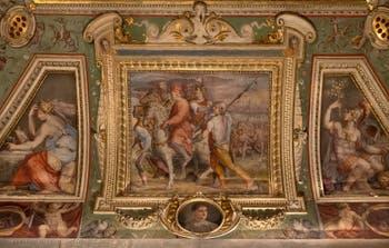 Giorgio Vasari, The Departure of Cosimo the Elder for Exile, Palazzo Vecchio in Florence, Italy