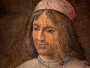 Giorgio Vasari, Lorenzo the Magnificent between Philosophers and Literates, Palazzo Vecchio in Florence