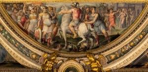 Giorgio Vasari, The Taking of Sarzana, Palazzo Vecchio in Florence