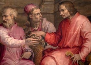 Giorgio Vasari, Lorenzo of Medici at the Diet of Cremona, Palazzo Vecchio in Florence