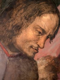 Giorgio Vasari, Lorenzo the Magnificent receives the tribute of ambassadors, Palazzo Vecchio in Florence