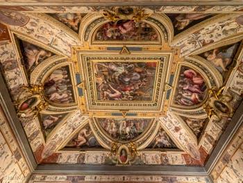 Giorgio Vasari and Marco da Faenza,  Lorenzo the Magnificent Room, at Palazzo Vecchio in Florence
