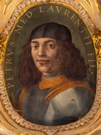 Giorgio Vasari, Portrait of Peter II of Medici, son of Lorenzo the Magnificent, Palazzo Vecchio in Florence