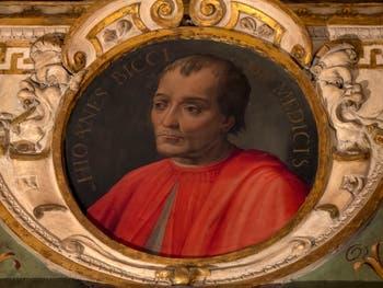 Giorgio Vasari, Portrait of Giovanni Bicci de Medici, Palazzo Vecchio in Florence, Italy