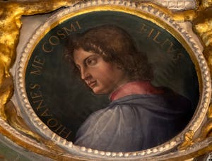 Giorgio Vasari, Portrait of Giovanni de Medici, Palazzo Vecchio in Florence, Italy
