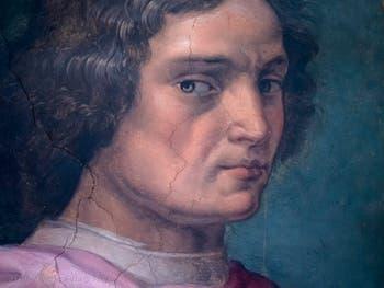 Giorgio Vasari, Portrait of Lorenzo de Medici, Palazzo Vecchio in Florence, Italy