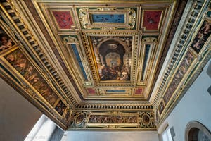 Giorgio Vasari, Esther Room Ceiling, at Palazzo Vecchio in Florence in Italy.