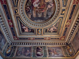 Giorgio Vasari, Ceiling of the room of Penelope at the Palazzo Vecchio in Florence in Italy