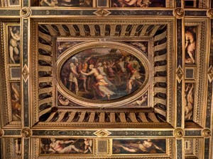 Giorgio Vasari, Room of Sabines at Palazzo Vecchio in Florence in Italy.