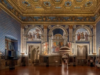 Lily Room at Palazzo Vecchio in Florence in Italy