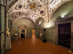 Green Room by Ridolfo del Ghirlandaio at the Palazzo Vecchio in Florence in Italy